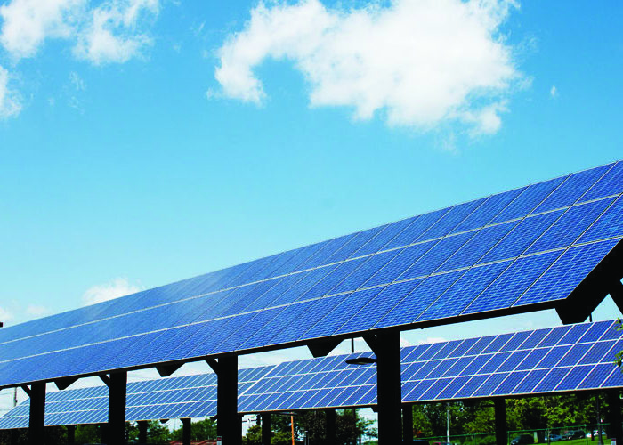 Picture of a Bluestem Solar Farm.