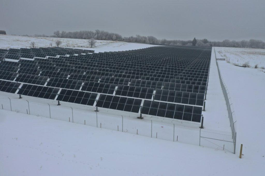Jo-Carroll Solar Project Fully Operational