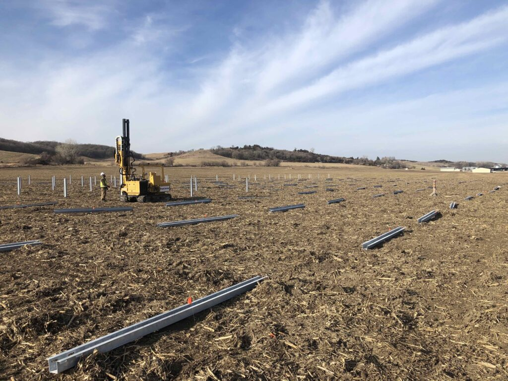 Construction of Solar-Plus-Storage Project Underway